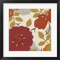 Hibiscus Fresco I Framed Print