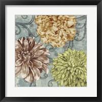 Flower Fetti I Framed Print