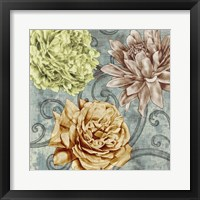 Flower Fetti II Framed Print