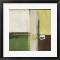 Green Field I Framed Print