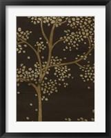 Gilded Bough II Framed Print
