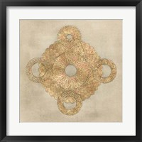 Solar Medallion I Framed Print