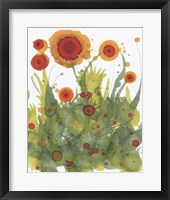 Framed Poppy Whimsy II