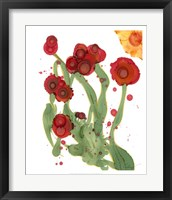 Framed Poppy Whimsy III