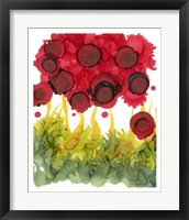 Framed Poppy Whimsy VI