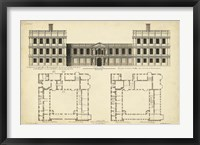 Framed Elevation & Plan for Castle Abby