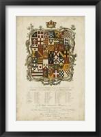 Framed Edmondson Heraldry I