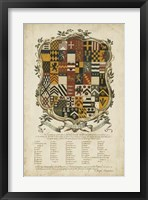 Framed Edmondson Heraldry III