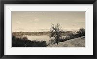 Foggy Mountain I Framed Print