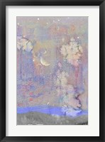 Silvery Moon I Framed Print