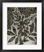 Pattern Bloom I Framed Print