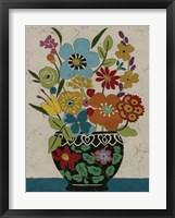 Sentimental Bouquet I Framed Print