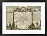Framed Atlas Nationale Illustre I