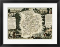 Framed Atlas Nationale Illustre II