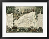 Framed Atlas Nationale Illustre V