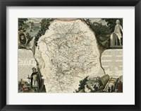 Framed Atlas Nationale Illustre VI