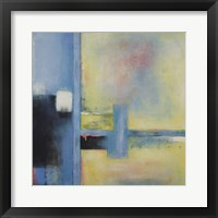 Touch of Blue II Framed Print