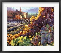 Framed Tuscany Harvest