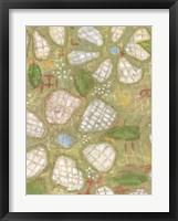 Textured Petals I Framed Print