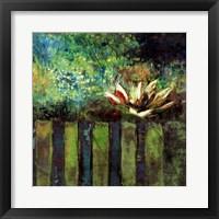 Impressionist Lily I Framed Print