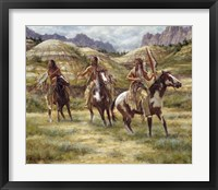 Framed Warriors of the Badlands