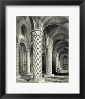 Framed Gothic Detail I