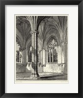 Framed Gothic Detail III