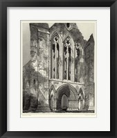 Framed Gothic Detail VI