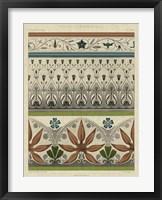 Panel Ornamentale I Framed Print