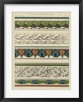 Panel Ornamentale II Framed Print