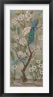 Framed Gardenia Chinoiserie II