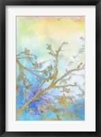 Gilt Branches I Framed Print