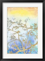 Gilt Branches II Framed Print