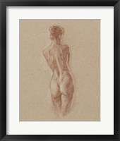 Standing Figure Study II Framed Print