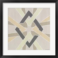 Non-Embellished Deco Stitch III Framed Print