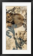 Encaustic Ephemera I Framed Print