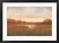 Golden Hour II Framed Print