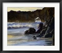 Framed Sunset on Santa Cruz