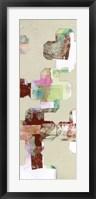Quatrefoil Cut-Outs II Framed Print