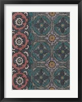 Sarkara Suzani I Framed Print