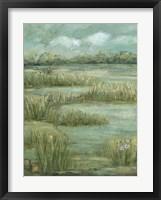 Framed Green Meadows I