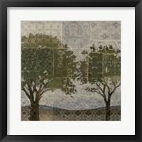 Patterned Arbor II Framed Print
