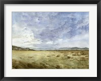 Montana Horizon II Framed Print
