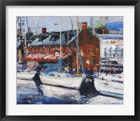 Framed Annapolis Wharf