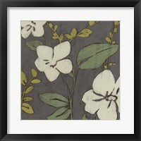 Cream Florals I Framed Print