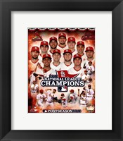 Framed St. Louis Cardinals 2013 National League Champions Composite