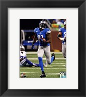 Framed Calvin Johnson 2013 Action