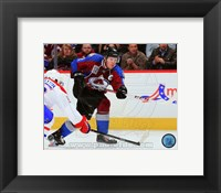 Framed Gabriel Landeskog 2013-14 Action
