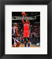 Framed Chris Paul 2013-14 Action in basketball