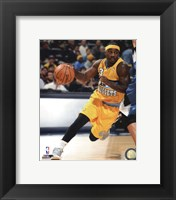 Framed Ty Lawson 2013-14 Action